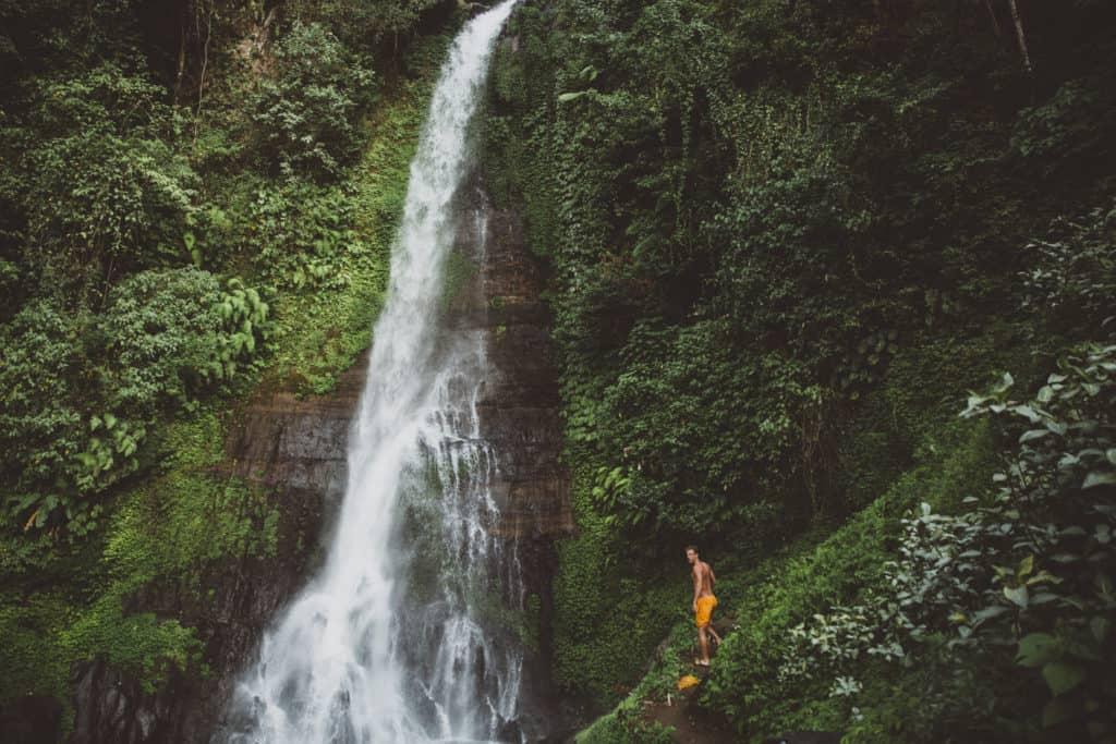 Best Instagram Spots In Bali - Git Git Waterfall - TheMandagies.com