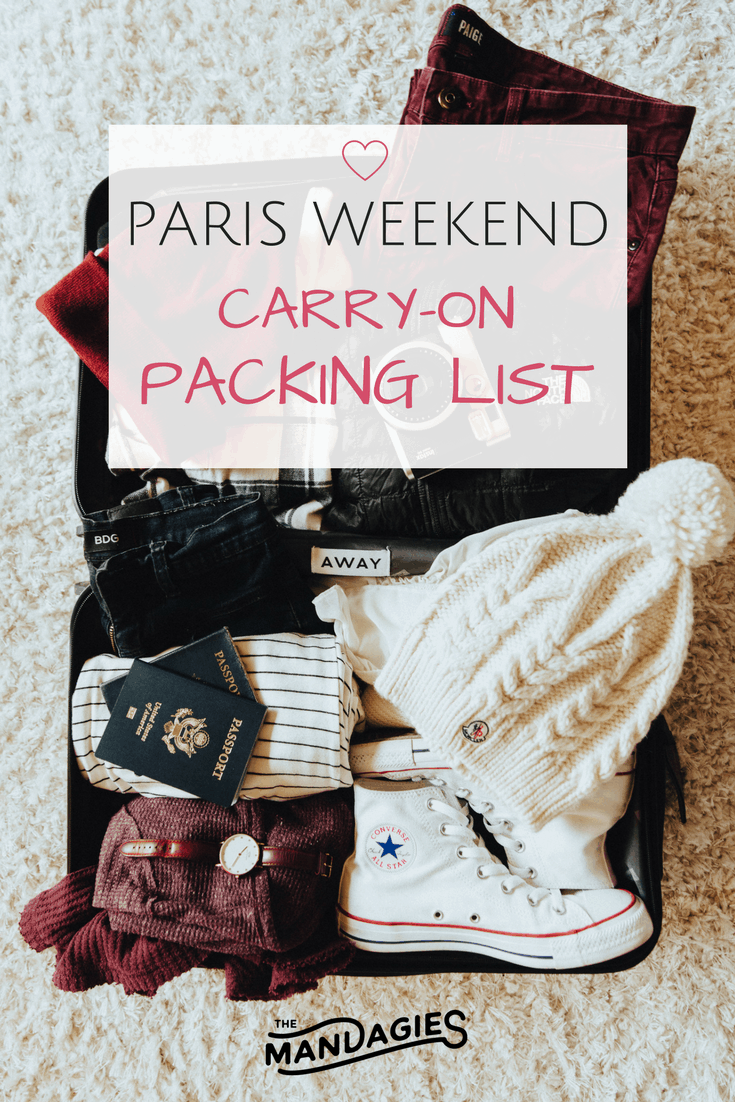 Weekend in Paris Pin
