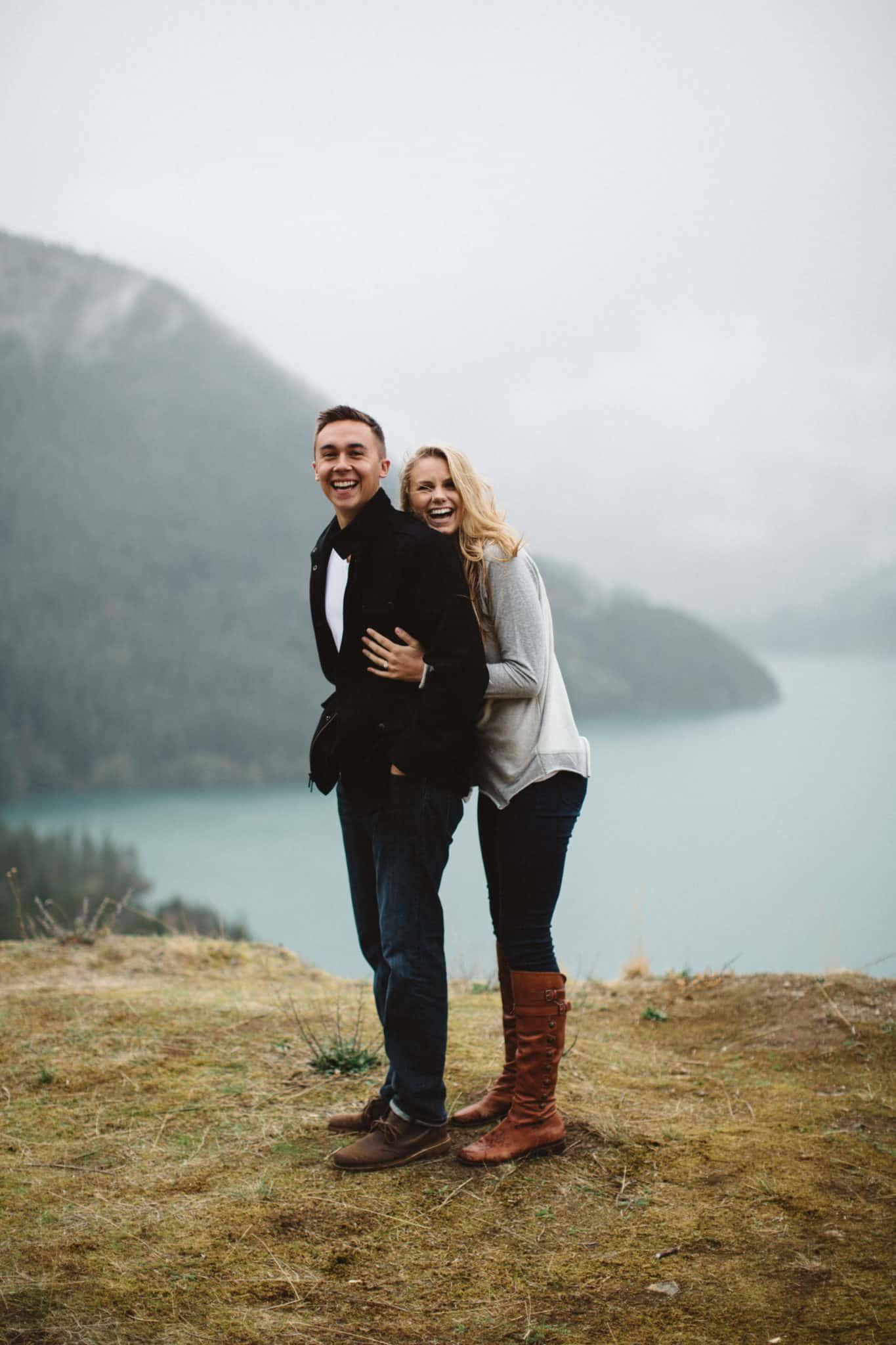 Diablo Lake - PNW Engagement shoot locations - TheMandagies.com