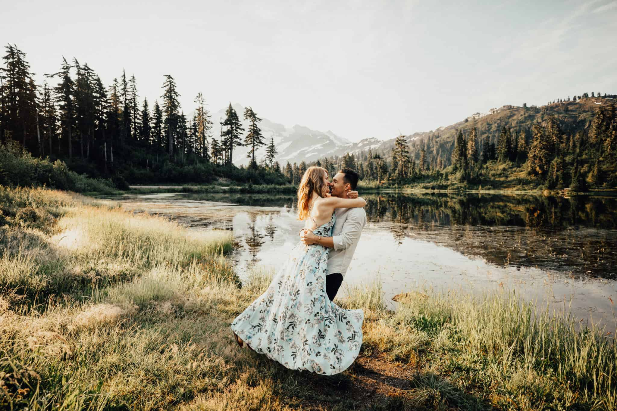 PNW Engagement Shoot Locations - Berty Mandagie