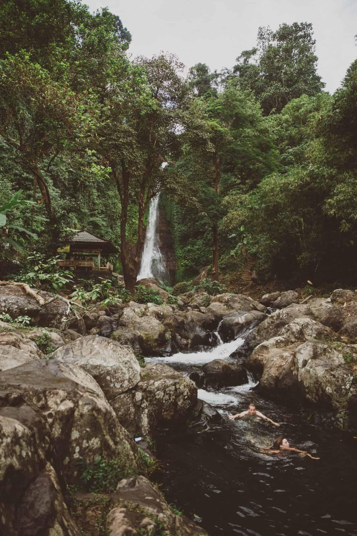 Bali Itinerary 10 Days - Git Git Waterfall - Bali, Indonesia - TheMandagies.com