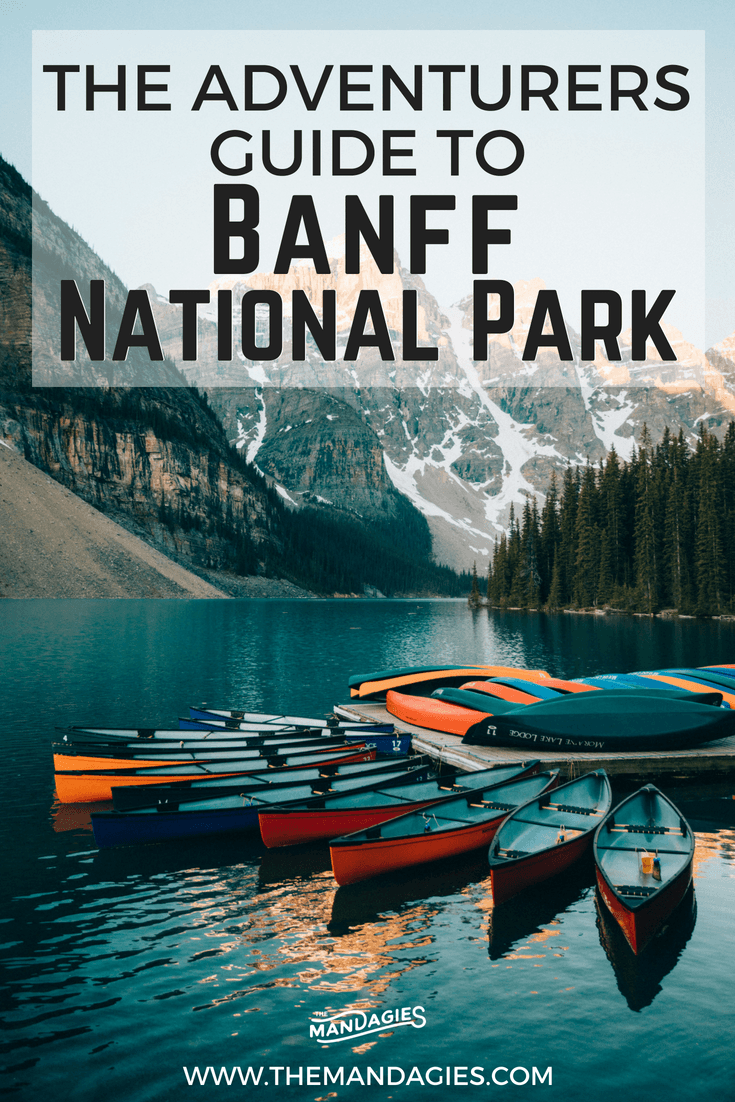 Ready for an adventurous vacation in the Canadian Rockies? We're sharing over 20 things to do in Banff, Canada, perfect for outdoor lovers and landscape photographers! Click here to read all the epic Banff activities here! #banff #canada #lakelouise #morainelake #bowvalley #canadianrockies #mountrundle #roadtrip #fall #autumn #vacation #photography #travel
