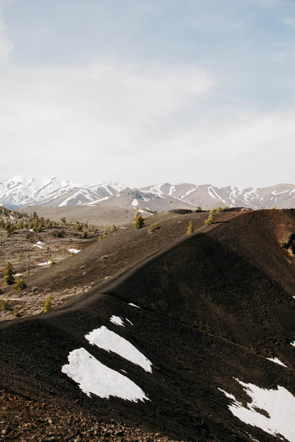 Landscape of Craters Of The Moon National Preserve