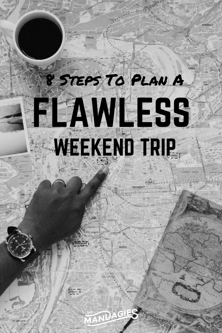 weekend trip - pin