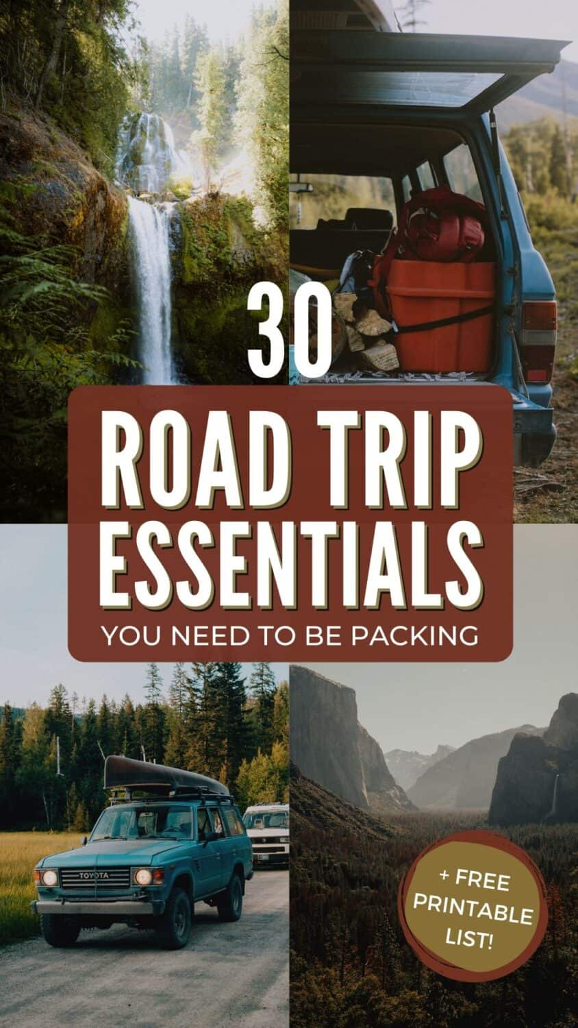 30 Necessary Road Trip Essentials You Need To Be Packing The Mandagies