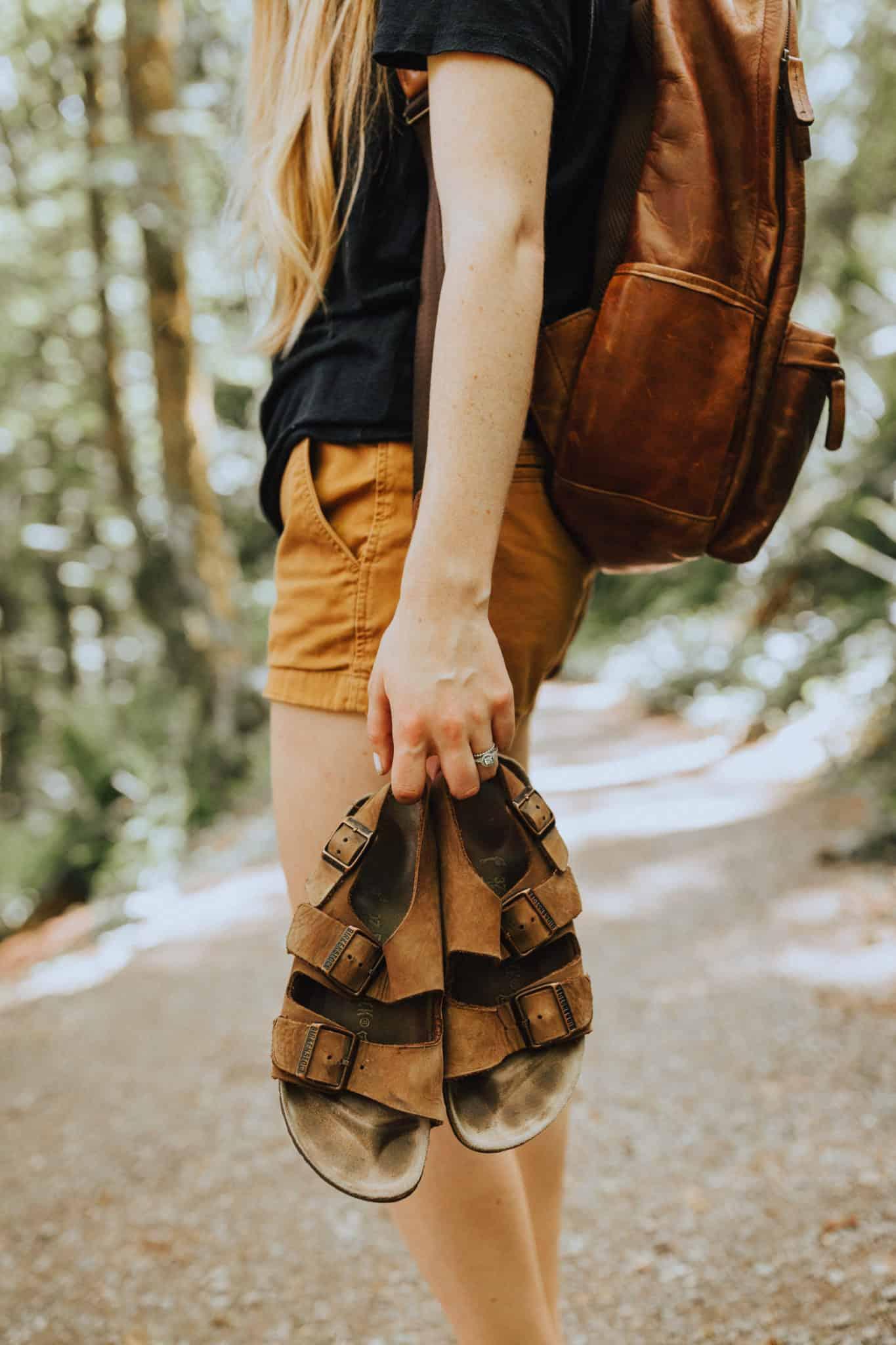 Birkenstocks - Hiking In The Pacific Northwest - TheMandagies.com