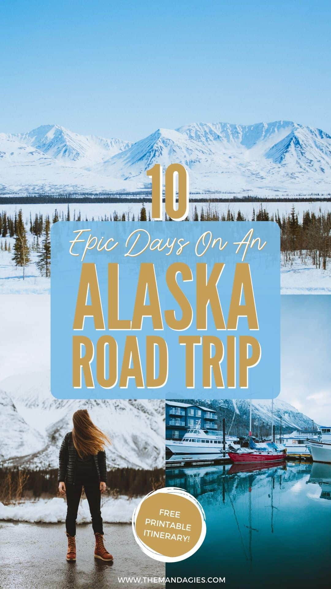 Explore the last frontier with the ultimate 10-day Alaska road trip! We're sharing all the best stops, from Fairbanks, Denali National Park, Kenai Fjords, Seward, and Anchorage. Save this post for a future trip to Alaska! #alaska #roadtrip #PNW #pacificnorthwest #anchorage #fairbanks #denali #photography #vwwestfalia