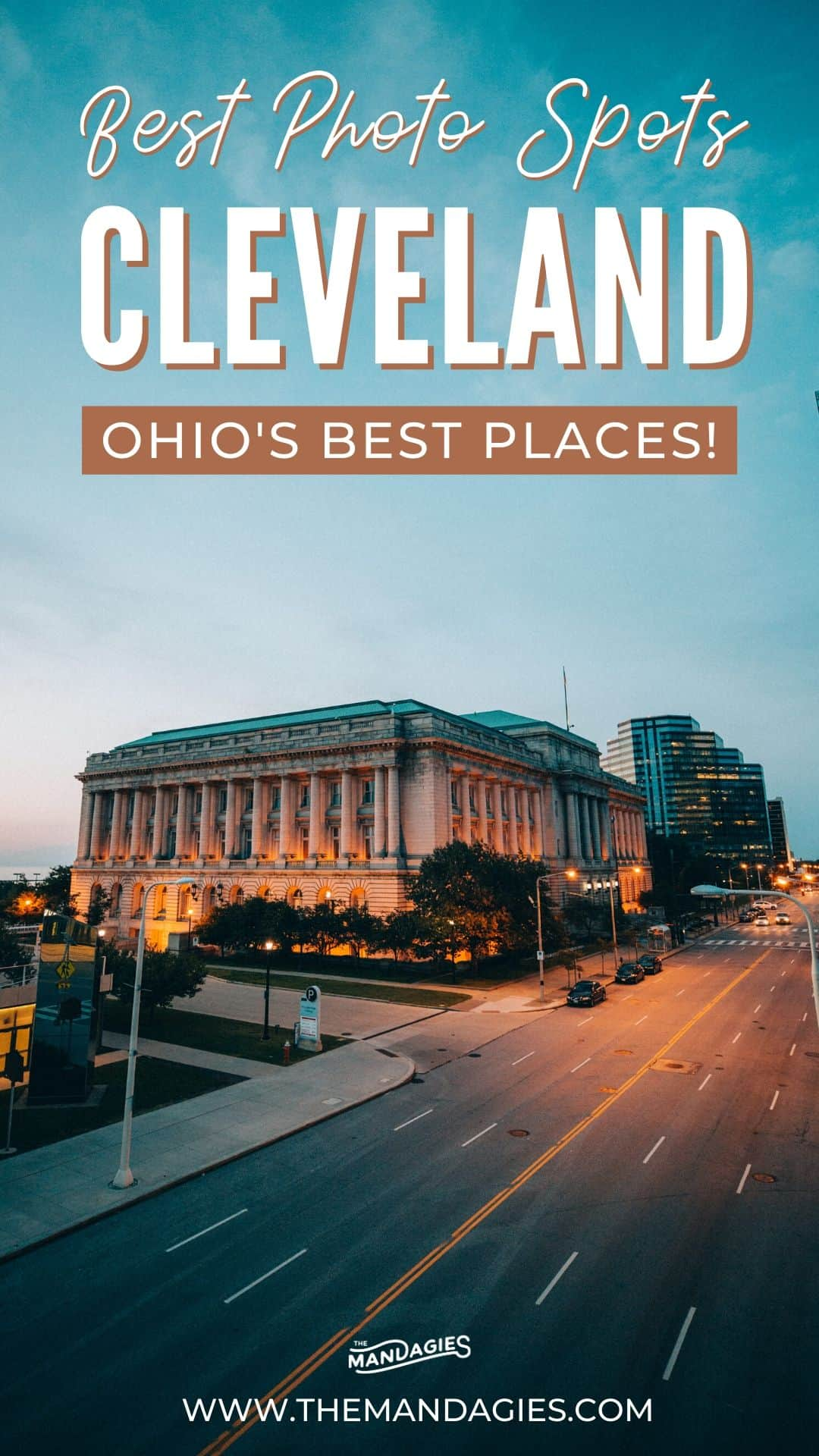 Traveling to Cleveland, Ohio, and want to know the best spots? Look no further than this post! We're sharing the best Instagram spots in Cleveland, which include historic places, unique restaurants, gorgeous nature, and so much more. Save this post for your net trip to the midwest! #cleveland #ohio #midwest #instagram #greatlakes #photography #cuyahogavalley #nature