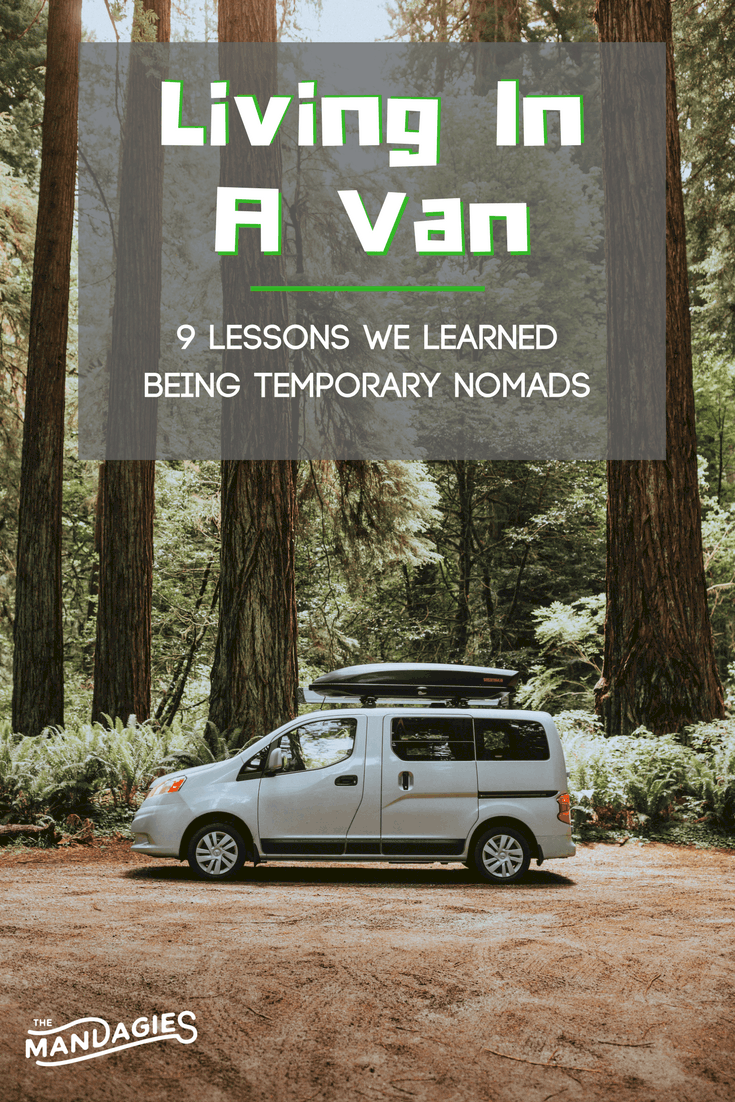 9 Lessons For Living In A Van For 10 Days