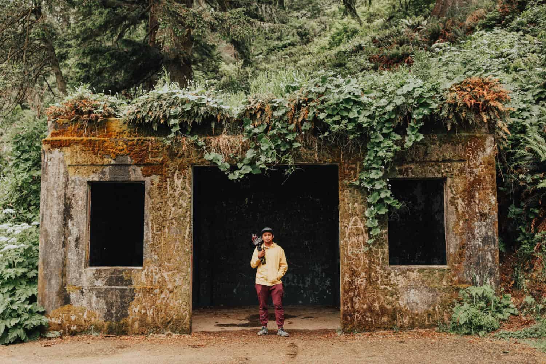 Berty Mandagie at Cape Disappointment, Washington -TheMandagies.com