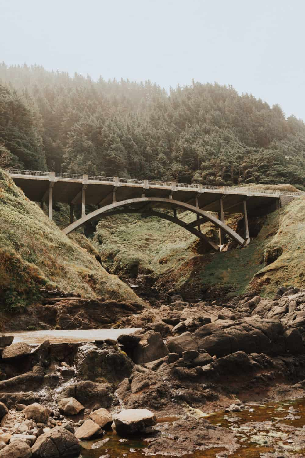 Bridge at Thor's Well, Oregon Coast - TheMandagies.com