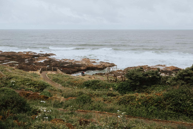 Cook's Chasm in Cape Perpetua Scenic Area - TheMandagies.com