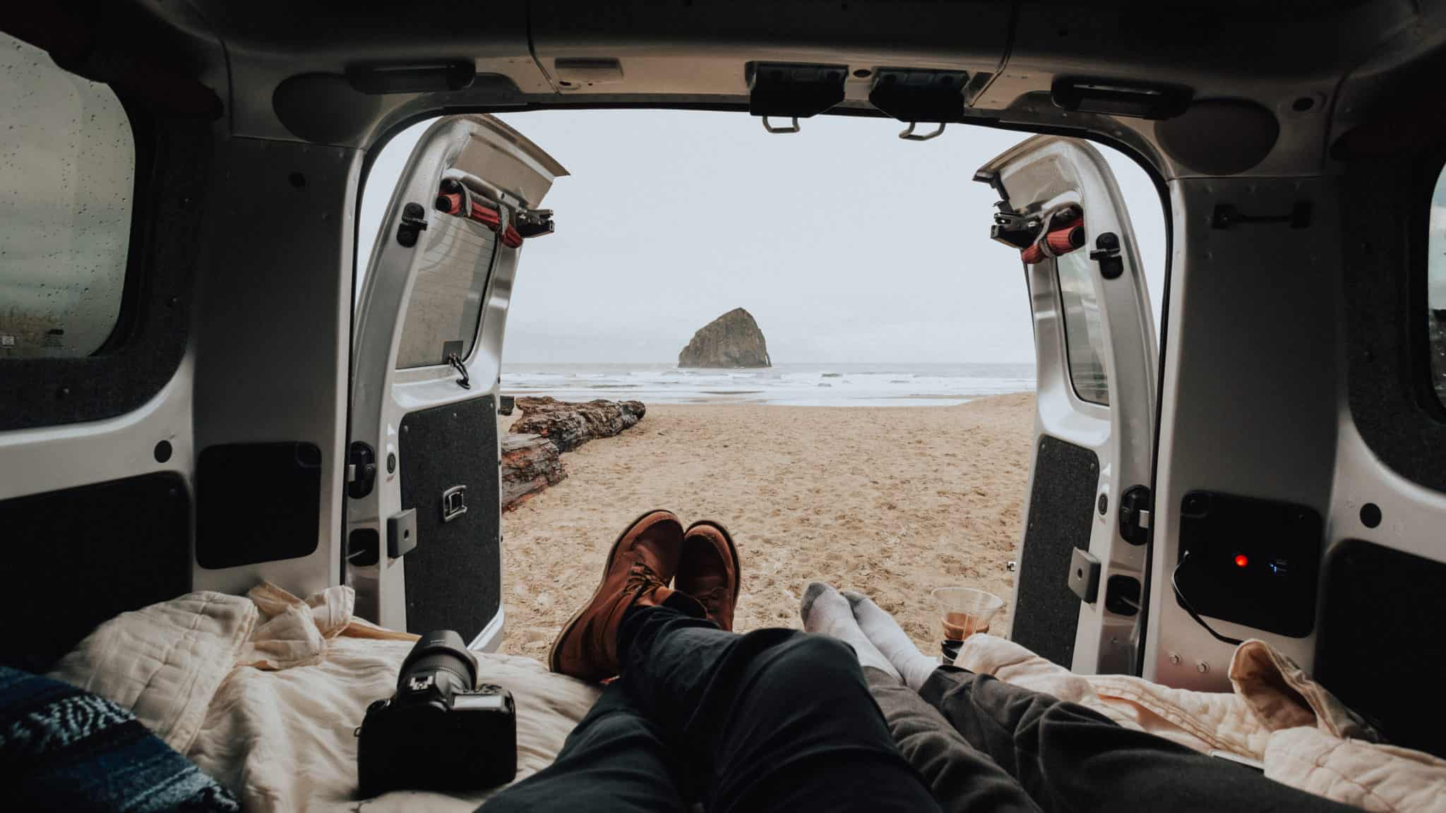 Sleeping in your car - Cape Kiwanda (Pacific City)
