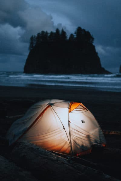 Everything You Need To Know About Camping On The Beach In Washington State
