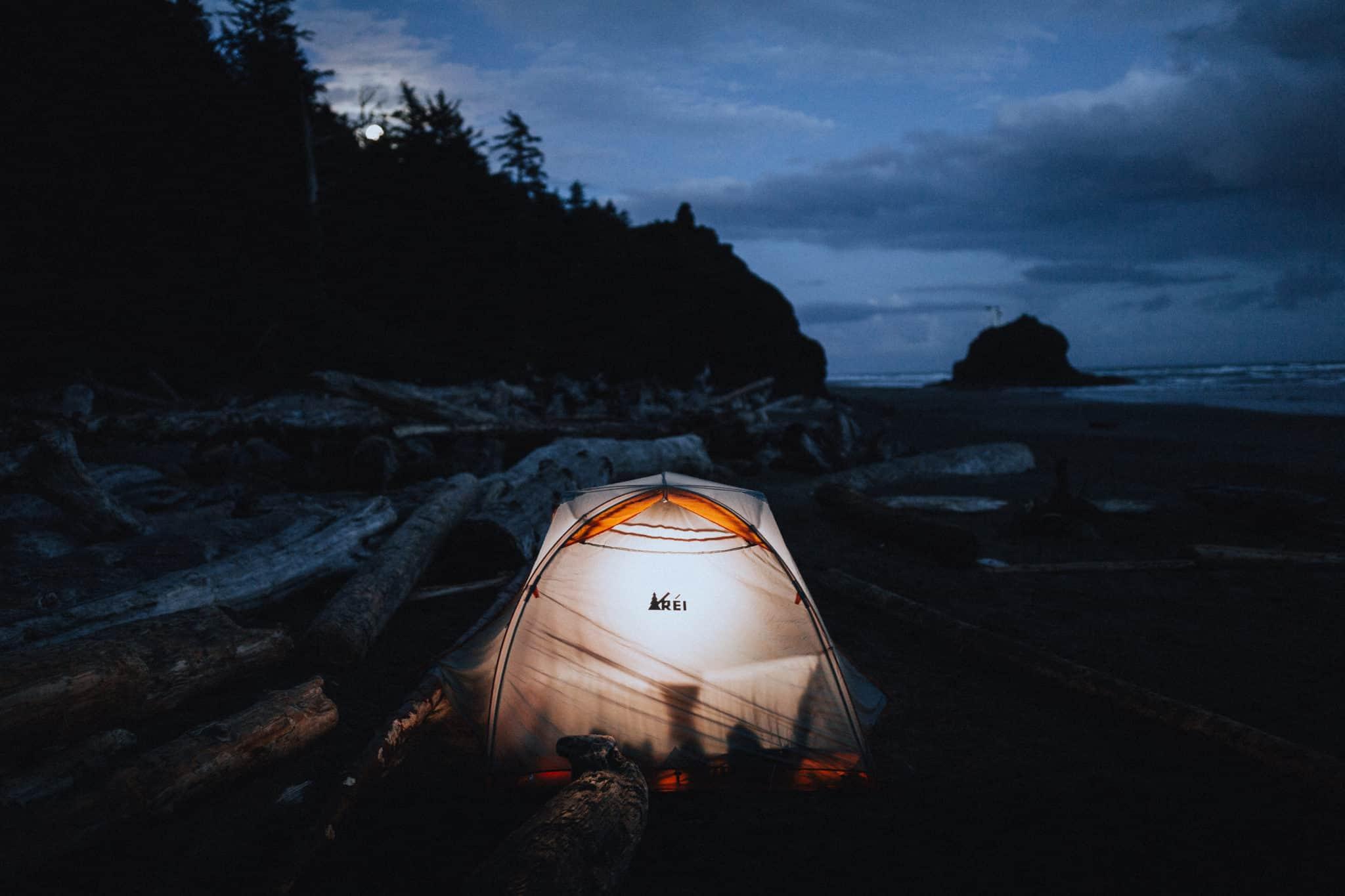 Olympic Peninsula Road Trip - La Push Beach Camping
