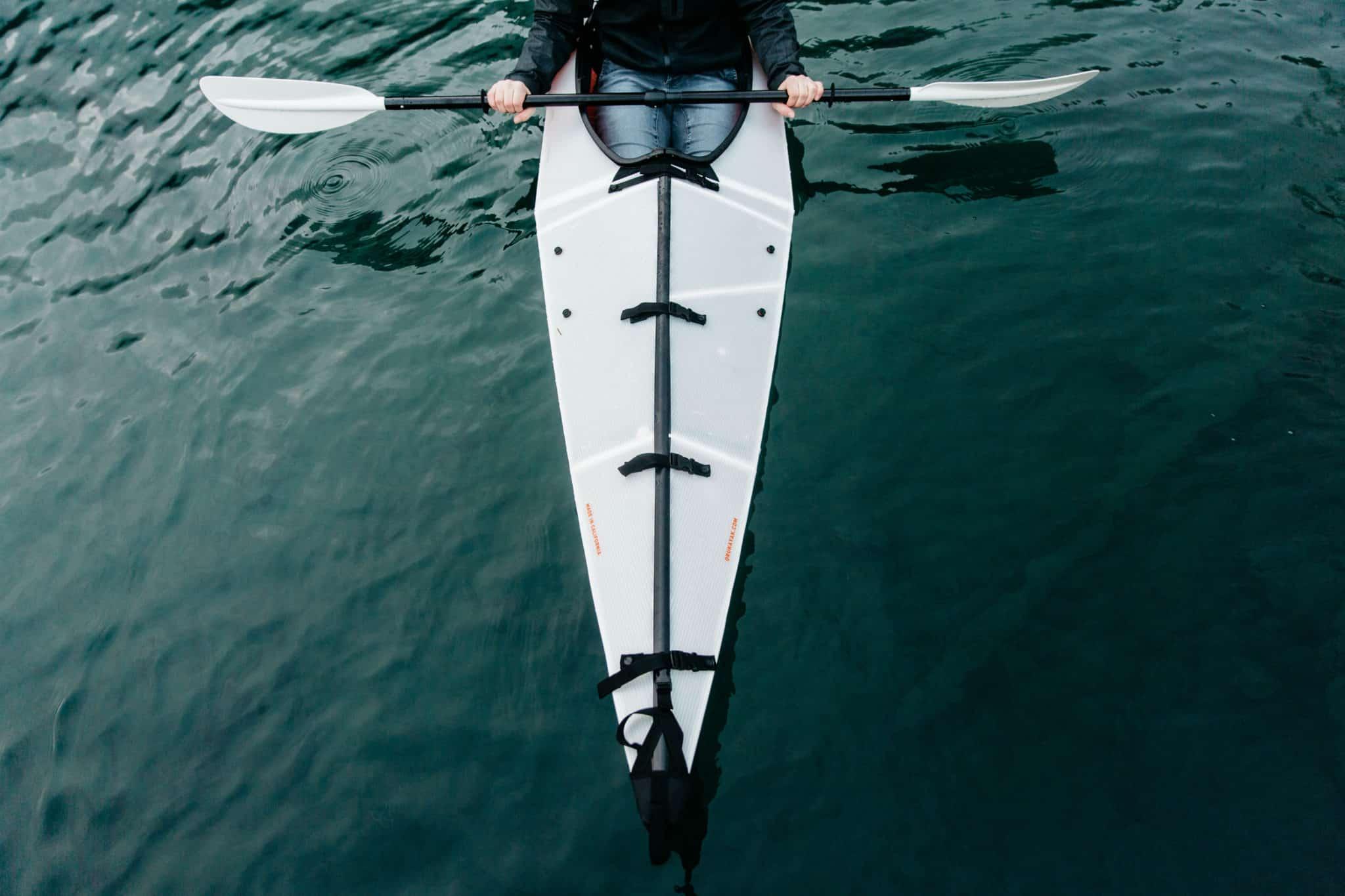 Olympic Peninsula Road Trip - Oru Kayak on Lake Crescent