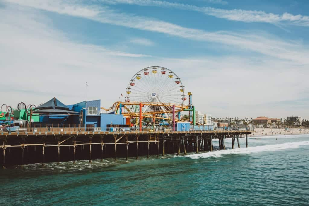 Pacific Coast Road Trip Stops - Los Angeles