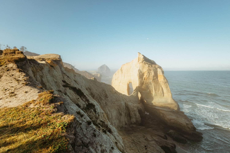Sandstone Cliffs at Cape Kiwanda State Natural Area - Pacific City