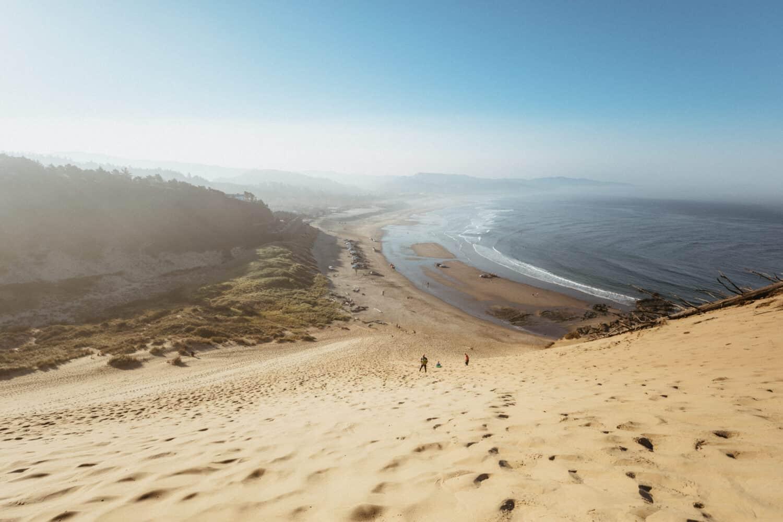 Beach View of Cape Kiwanda