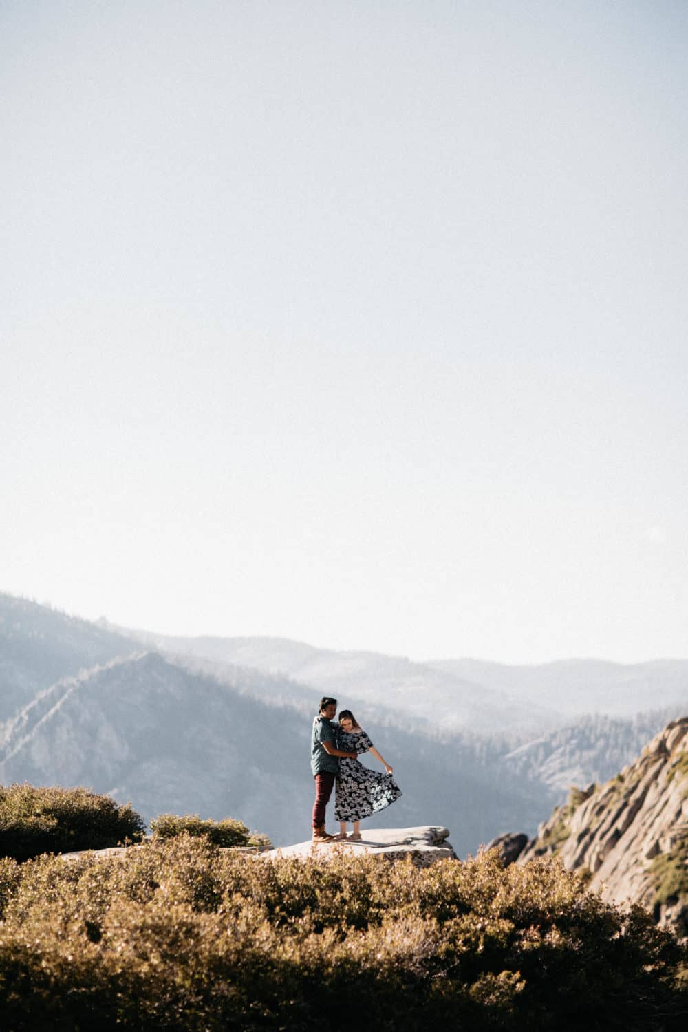 24 Hours In Yosemite National Park - Taft Point Portrait Session - TheMandagies.com