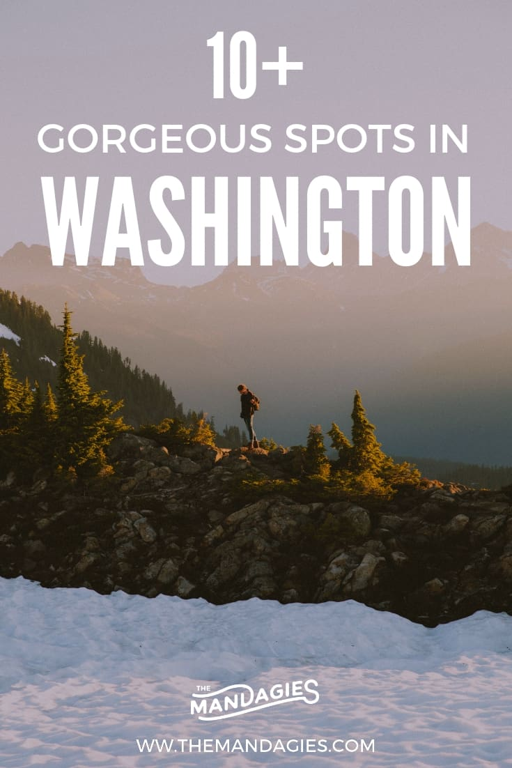Looking for gorgeous photography locations in Washington state? We're sharing the most instagram-worthy spots all around our beautiful state! Click here to start planning your next trip to the PNW! #washington #PNW #instagram #photography #pacificnorthwest #travel #outdoors #nature