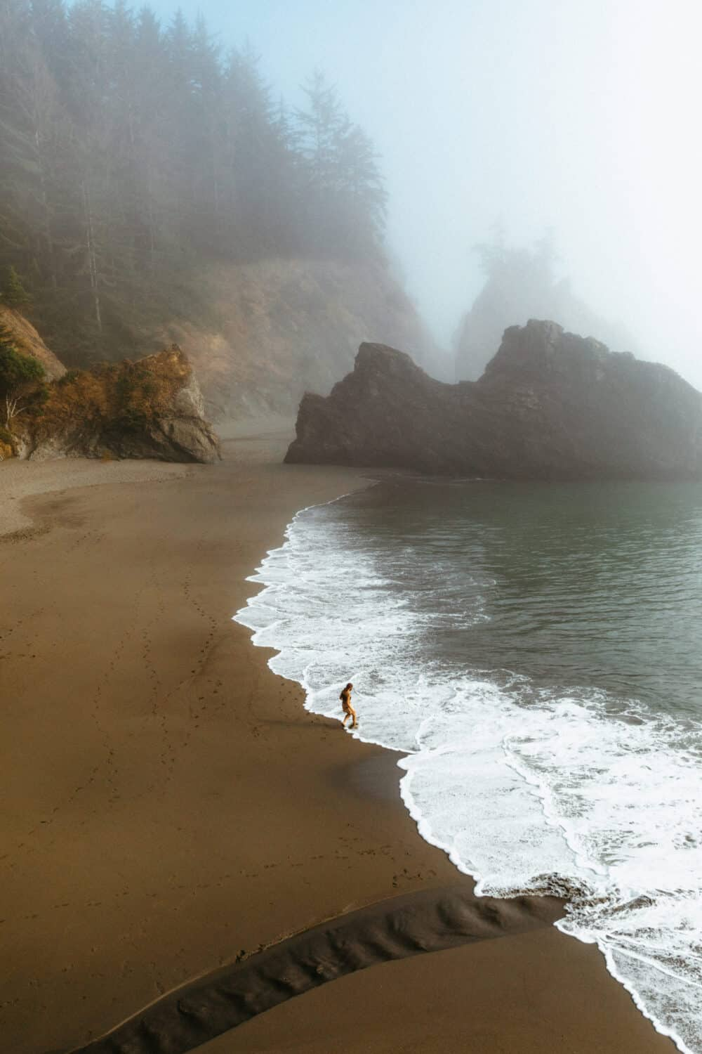 Secret Beach in Samuel H Boardman Scenic Corridor