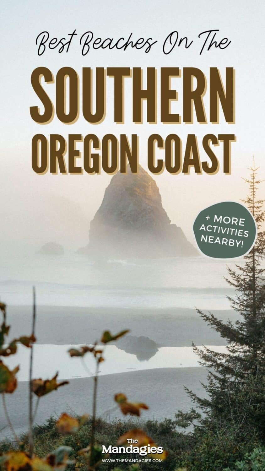 The Southern Oregon coast is full of magical spots, including Samuel H Boardman Scenic Corridor, Coos Bay, Port Orford, and Gold Beach. Save this post for your next Oregon coast road trip! Southern Oregon Beaches | Southern Oregon Coast Towns | Southern Oregon Coast Attractions #oregon #oregoncoast #southernoregoncoast #samuelhboardman #pacificnorthwest #PNW #Westcoast #outdoors #nature #adventures #photography