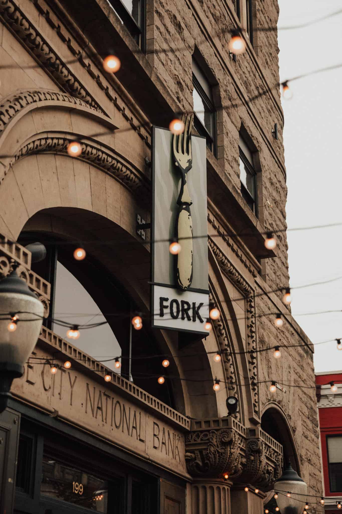 Fork Restaurant Exterior View, Boise, Idaho