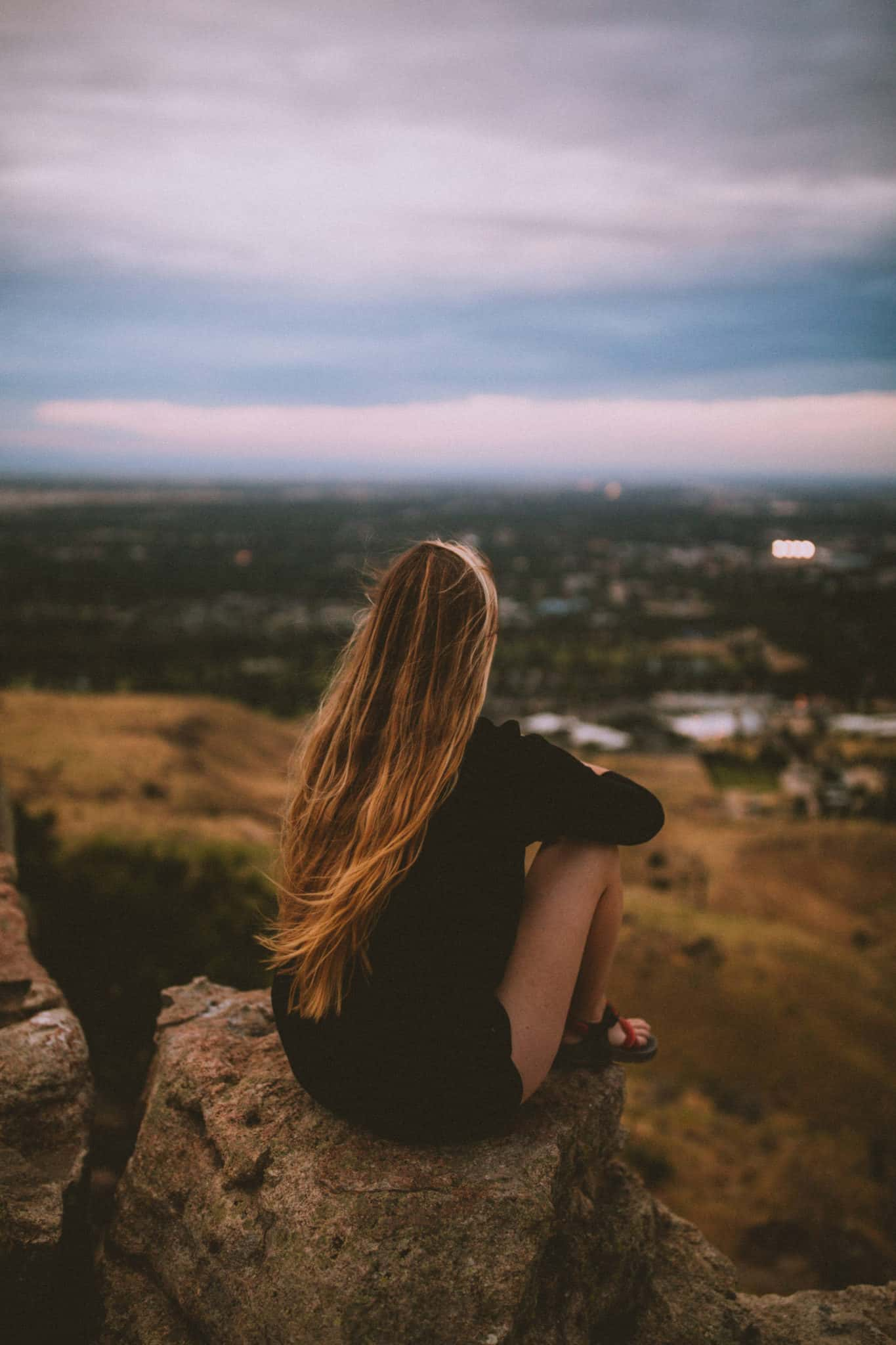 View From Table Rock Hike - Things To Do In Boise, Idaho - The Mandagies