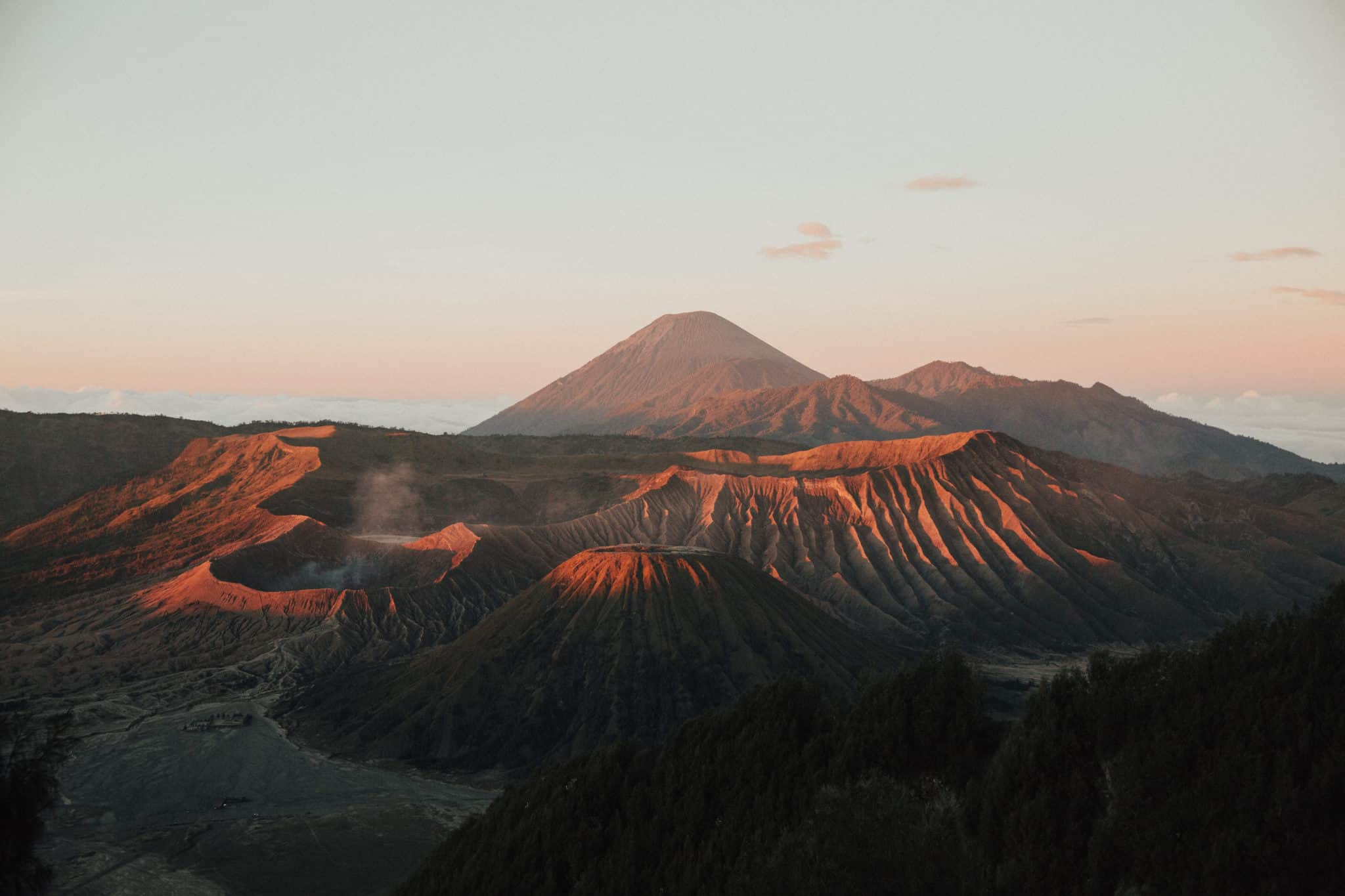 Mount Bromo view from sunrise