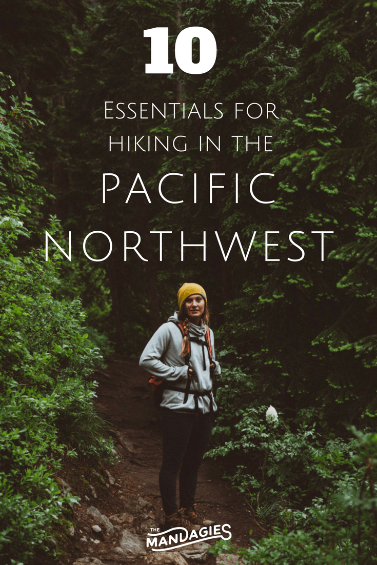 Plan your next outdoor adventure in the PNW! Click here to read the ultimate guide to hiking in the Pacific Northwest, including what to wear, pack, what trails to take, and so much more! Discover Washington, Idaho, Oregon, and Canada! #hiking #packinglist #PNW #PacificNorthwest #Washington #mountain #Oreon #Idaho #BritishColumbia #travel #waterfalls #lakes