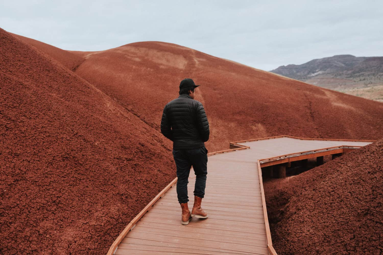 Painted Cove Trail - Painted Hills in Eastern Oregon