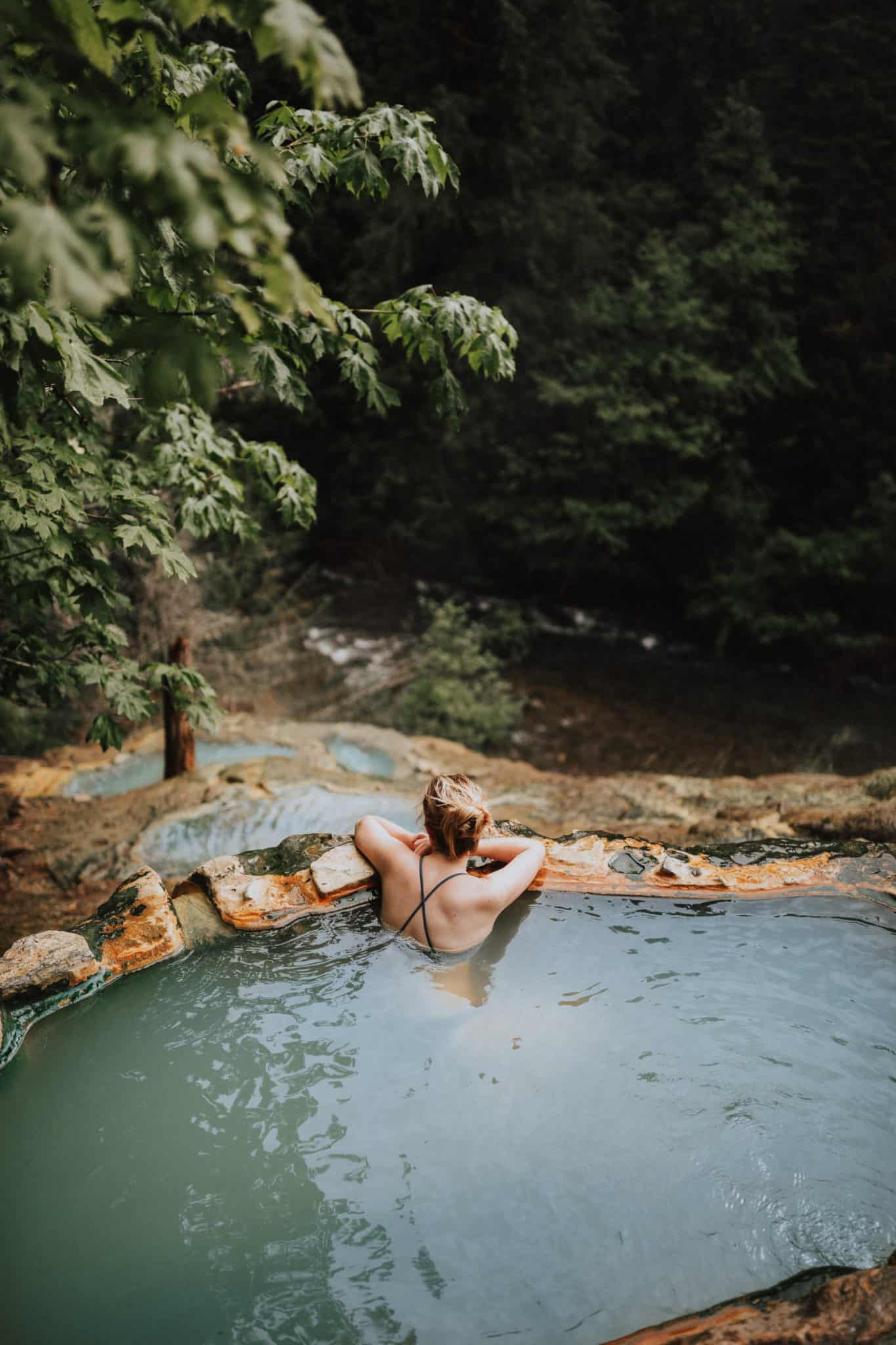 Umpqua Hot Springs in the Pacific Northwest, Oregon -TheMandagies.com