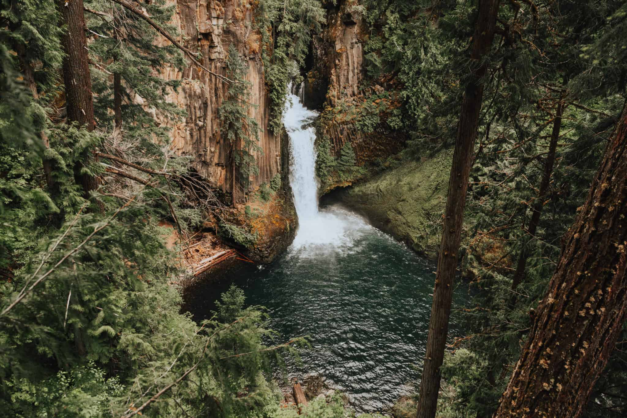 Best Hikes in the Pacific Northwest - Toketee Falls