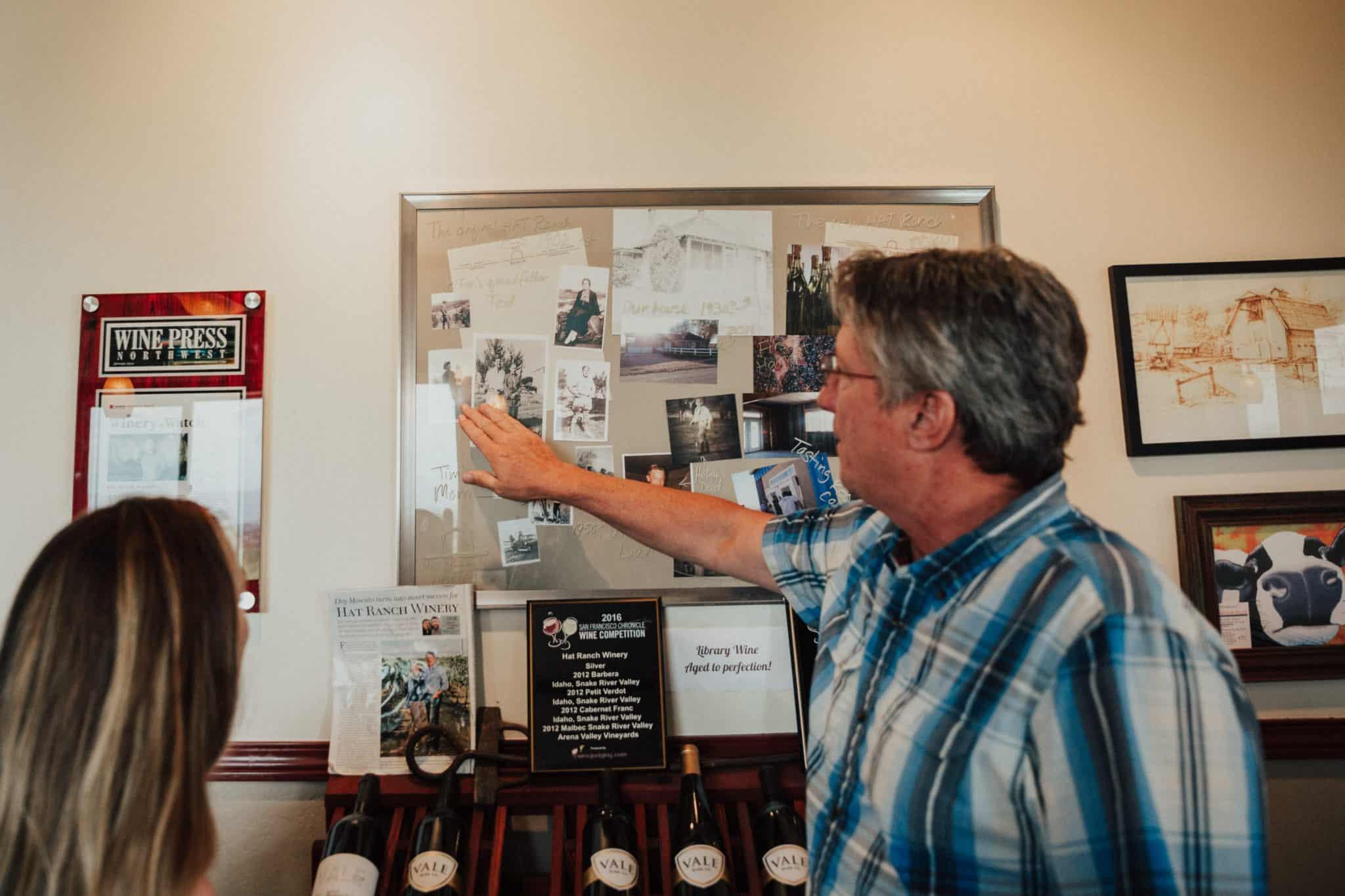 Exploring Idaho Wineries -HAT Ranch Vineyards- The Mandagies