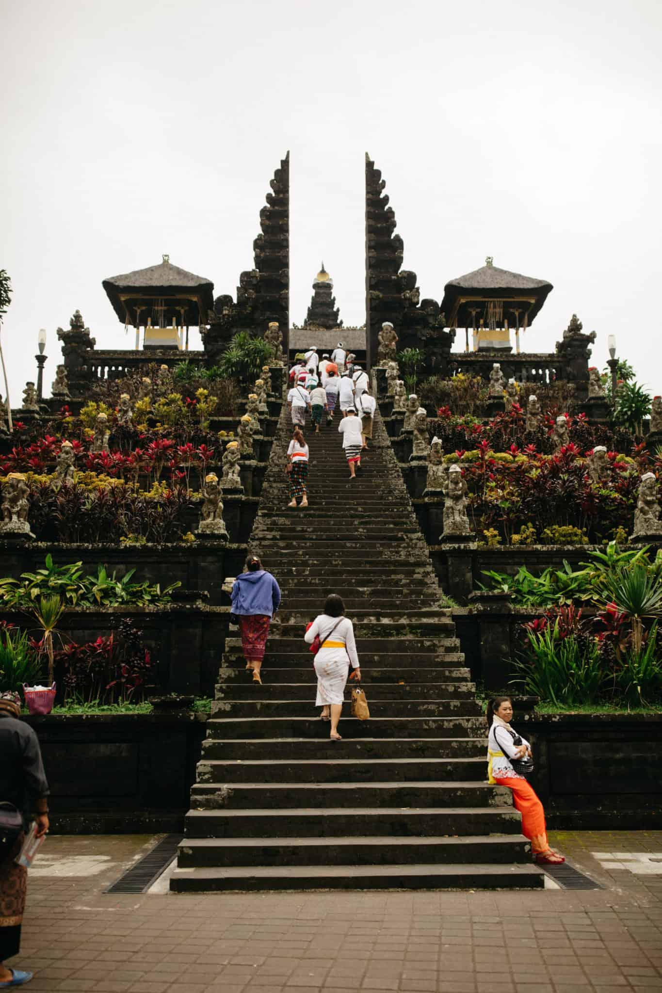 Pura Besakih Temple, Bali, Indonesia - TheMandagies.com