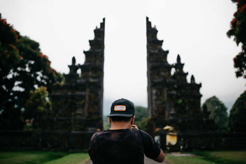 Handara Golf Course Gate - Bali, Indonesia - TheMandagies.com
