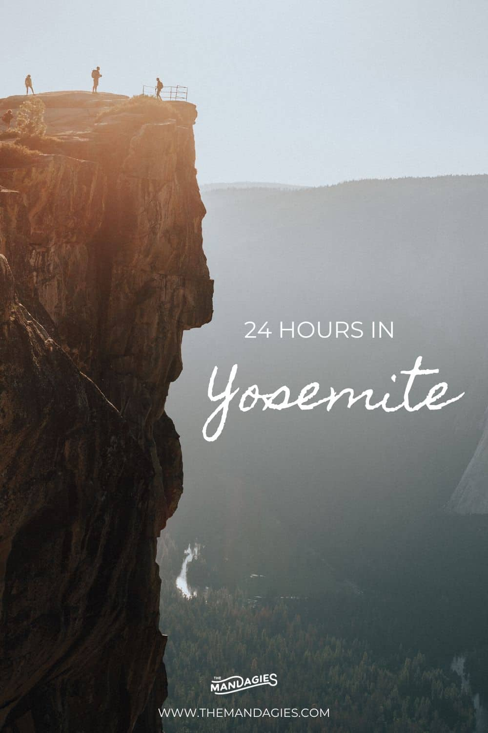 Do you only have 24 hours in Yosemite National Park? We're sharing the perfect itinerary for you, complete with Yosemite hiking options, best photography spots, and sunrise and sunset locations too! Save this pin for your next California adventure! #yosemite #nationalpark #california #yosemitenationalpark #hiking #taftpoint #glacierpeak