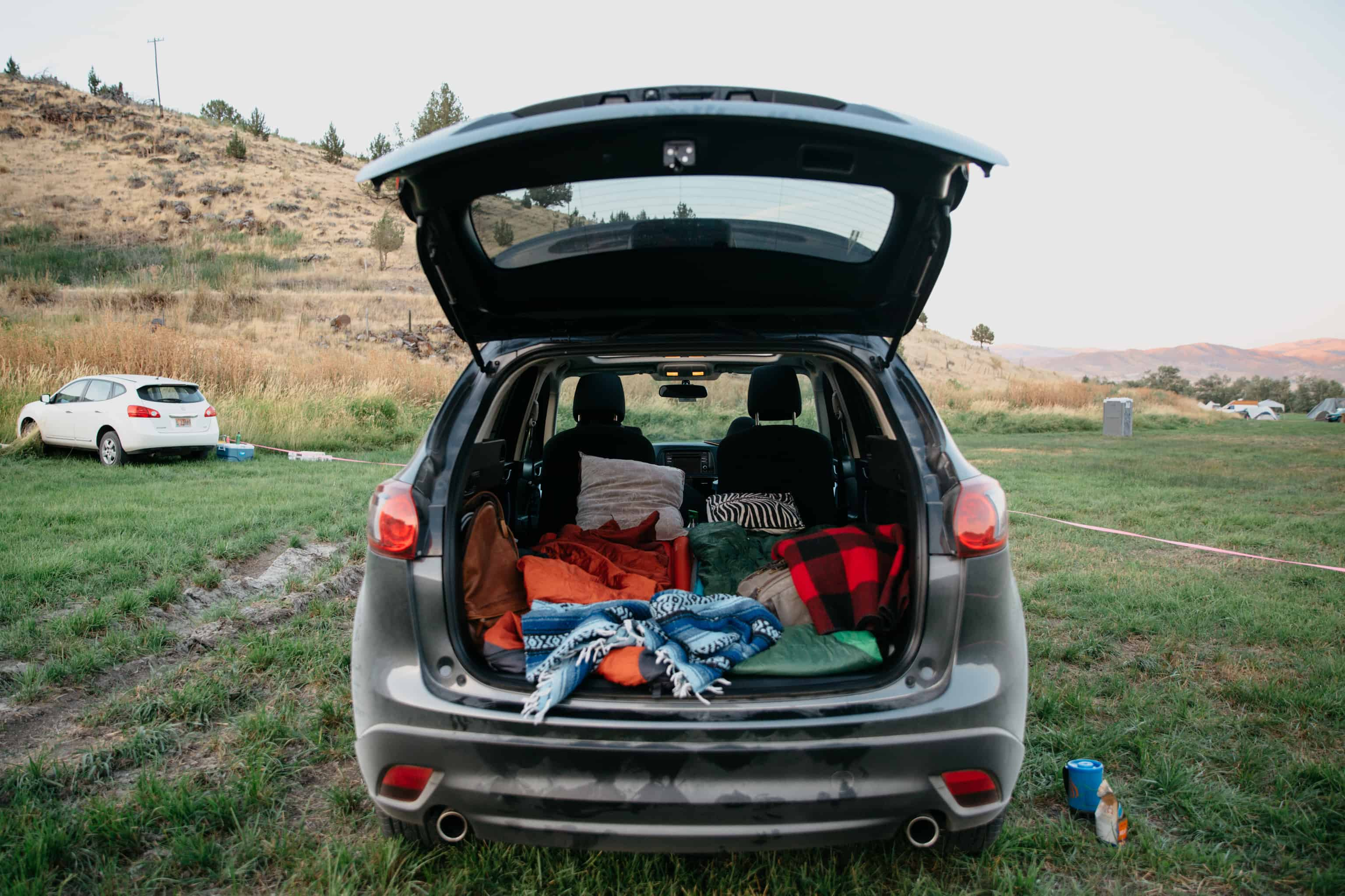 Total Eclipse with Elysian Brewing and Atlas Obscura 2017, car camping