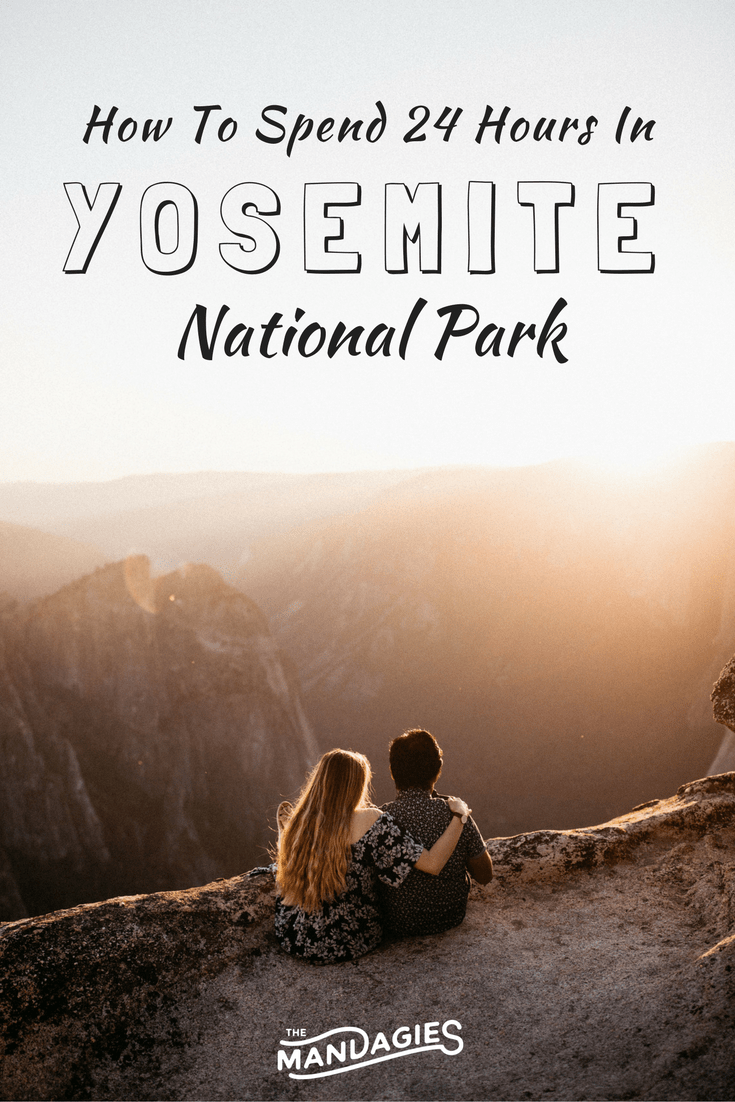Yosemite National Park Pin TheMandagies.com