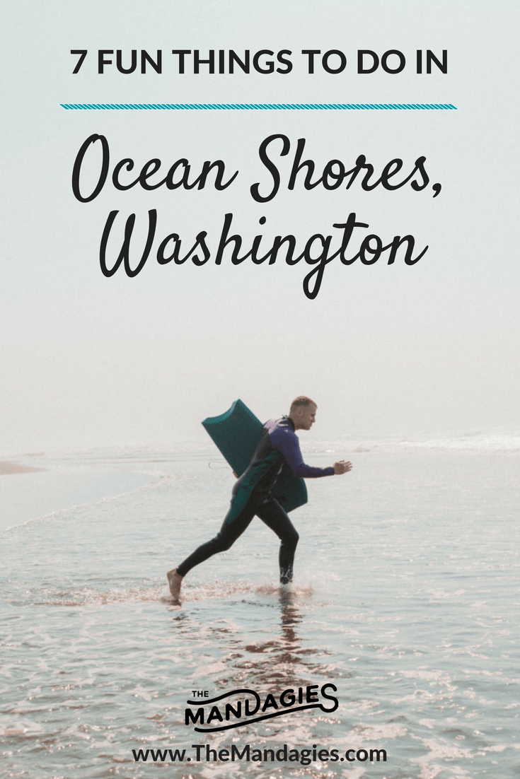 Heading out to the Washington Coast? Don't miss this fun little town by the sea called Ocean Shores for some delicious seafood and fun water activities!