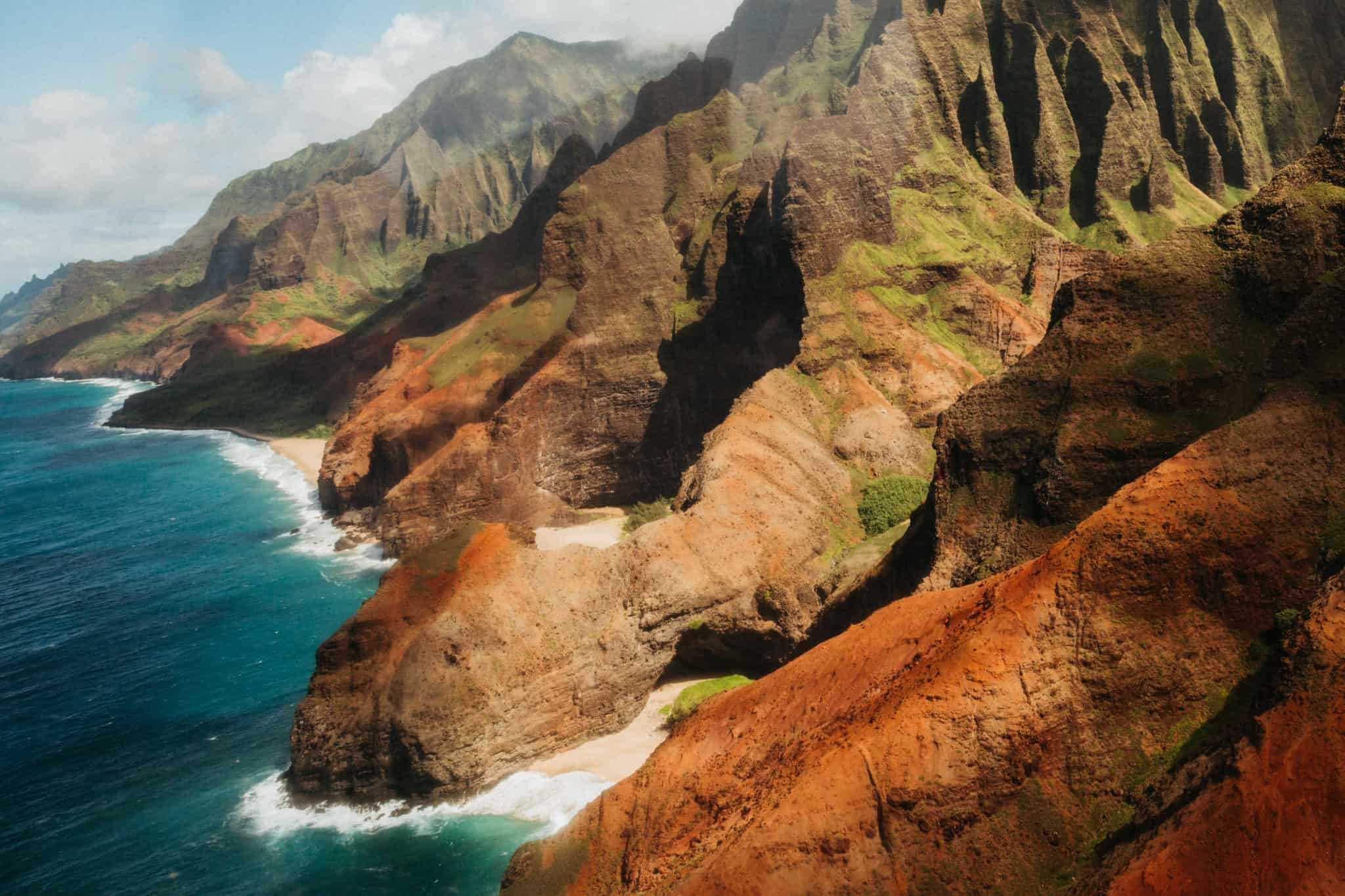 Kauai Helicopter Tour View: Na Pali Coast