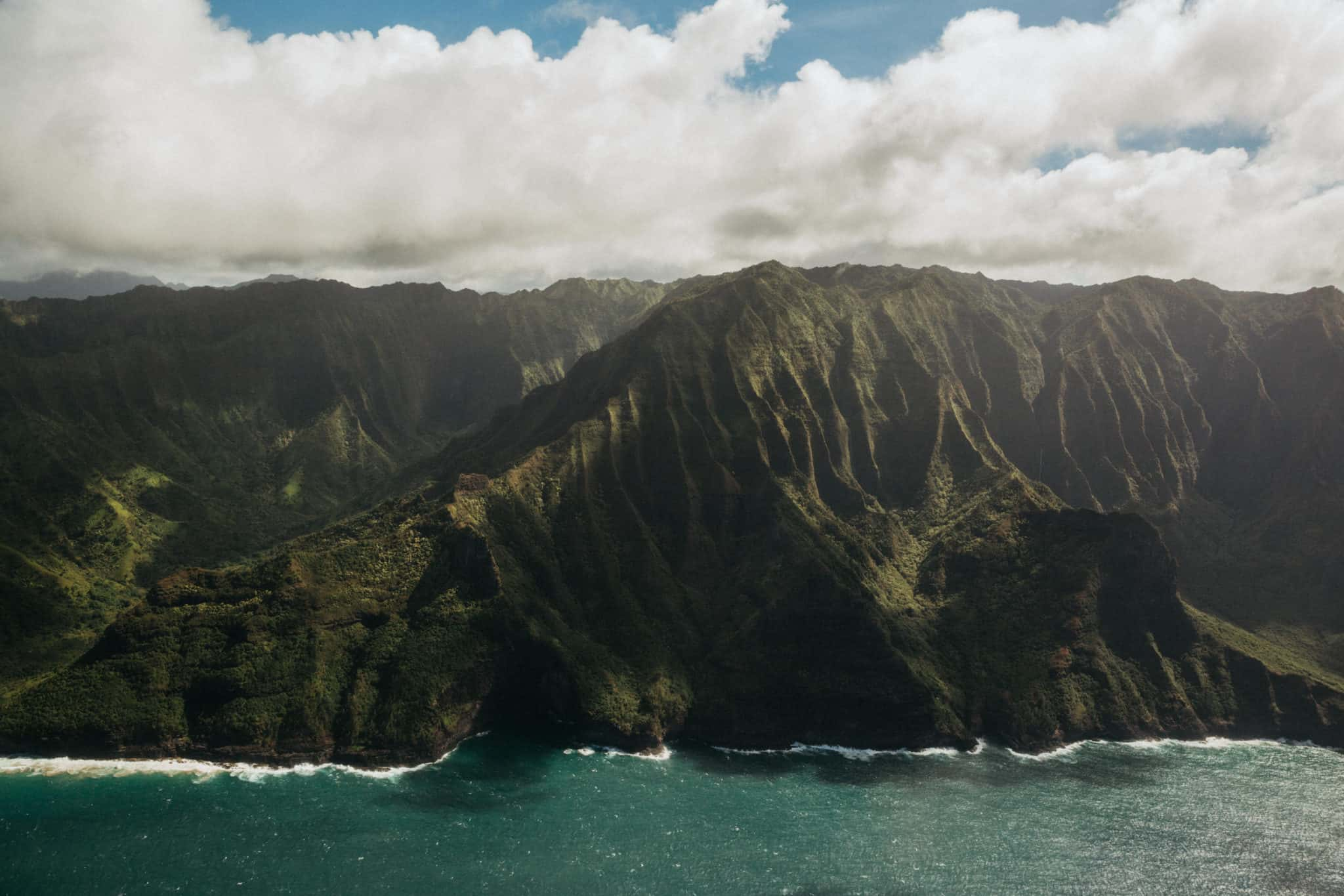 Kauai Helicopter Tour View: Na Pali Coast