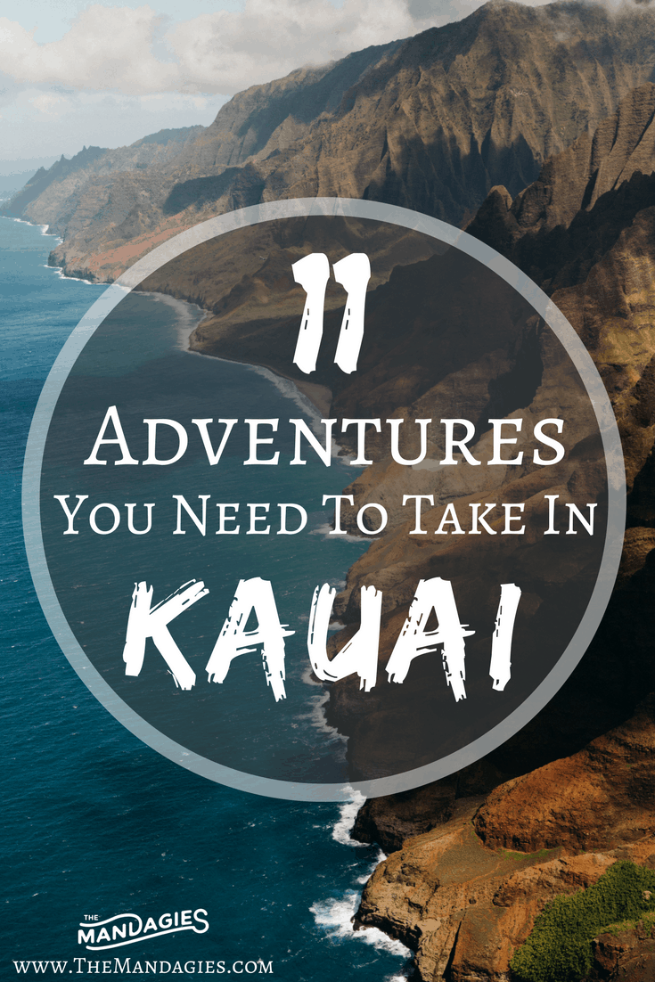 In this post, we're sharing our favorite things to do in Kauai – all inclusive with gorgeous beaches, stunning vistas, and breathtaking waterfalls! This post has everything you need to have the adventure of a lifetime in Hawaii!