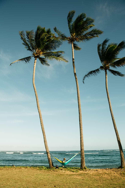 East Shore Beach in Kapaa Kauai
