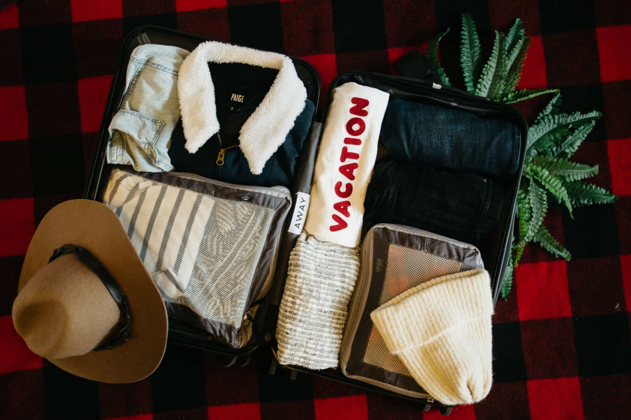 Need to pack a suitcase fast? In this post, we're giving you tips on planning ahead and sharing the tools we use to get it done so we can focus on better things..like netflix. :) How To Pack A Suitcase - TheMandagies.com