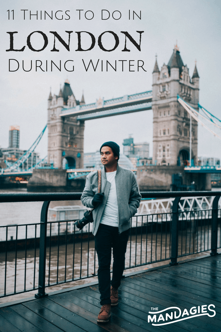 Looking for magical things to do in London during wintertime? In this post, we're covering why the winter months are some of the best times to visit the UK! Click on the post to read why you should book your trip to England ASAP! TheMandagies.com