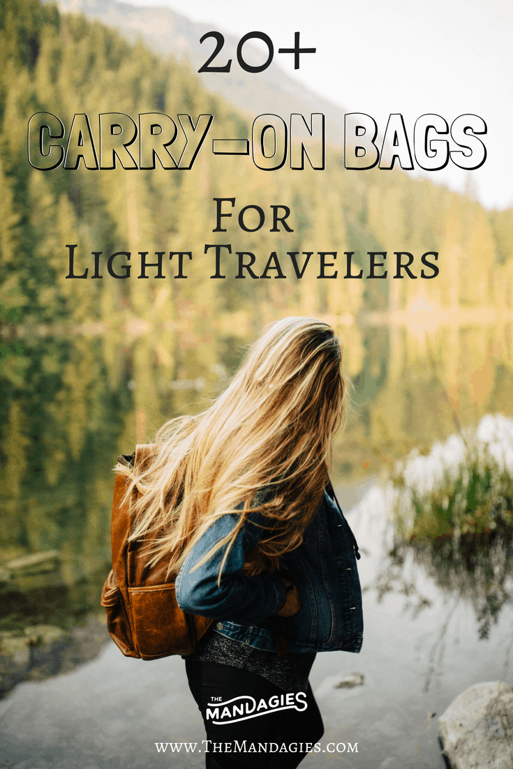 Looking for the best carry-on bags for your next trip? We've got you covered in our latest post - sharing all styles from adventurous to stylish to minimalist! All on TheMandagies.com