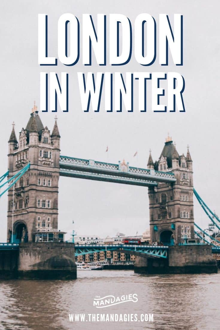 Looking for amazing winter activities in London? Look no further because we're giving you the best tips for visiting London in winter here! Save this pin for your next trip to Europe in winter! #london #england #UK #winter #europe #wintertravel #christmas #holiday