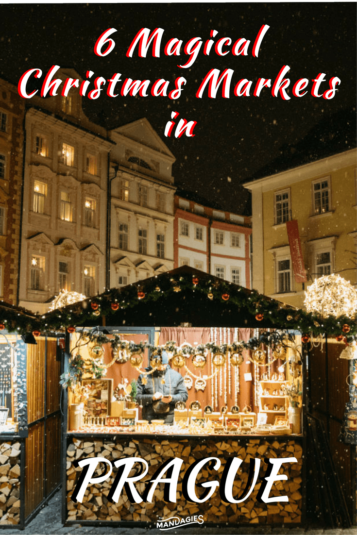 Ready to experience all that Prague Christmas Markets have to offer? In this post, we're sharing our favorites around the city, and the best things to do at each one! Czech Republic, TheMandagies.com